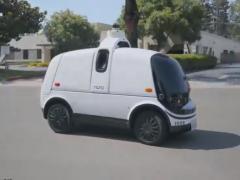 物流巨头智能配送车上路,自动驾驶载重100公斤,国内会普及吗